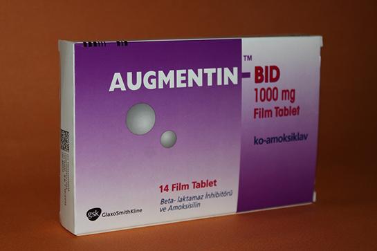 Augmentin Bid 1000 mg 14 Tablet antibiyotik ilacı …